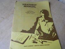 Heathkit Manual for Cantenna Dummy Load HN-31