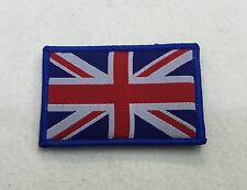 Union Jack Badge, Colour, TRF, Military, Army, Sleeve, Arm, Patch, Hook Loop