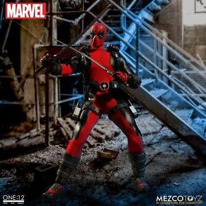 New Mezco Mrvel Deadpool X-Men Super Hero One:12 Collective BJD Figure Toys 16cm
