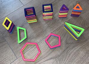 Magnetic Shapes Construction 67 piece bundle