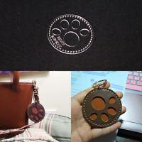 Süß Katzenkralle Muster Acryl Schimmel DIY Schlüsselanhänger Vorlage Leder Tool