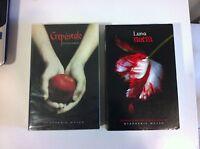 LIBROS CREPUSCULO UN AMOR PELIGROSO + LUNA NUEVA - Crepusculo - Stephenie Meyer