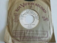 JUNE VALLI Crying in the Chapel / Love Every Moment You Live 1953 PROMO Jazz Pop