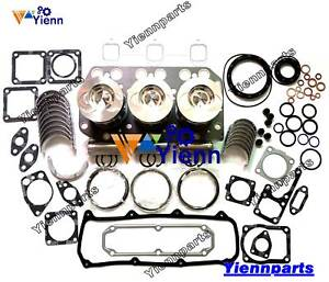 3TN100 3TN100E 3TN100L Overhaul Rebuild Kit For Yanmar Engine F475 F535 Tractor