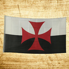New 3x5 Feet Knights Templar Legend Flag Indoor Outdoor Polyester