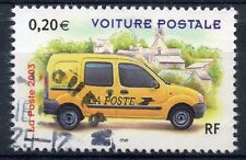 TIMBRE FRANCE OBLITERE N° 3612 VOITURE POSTAL / Photo non contractuelle