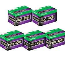 5 Rolls Fuji Fujicolor Pro 400H 36 exp 35mm Professional Color Negative Film
