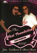 Hart Foundation Shoot DVD WWE WWF WCW Bret Hitman Jim Neidhart Natalia McMahon