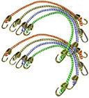 Keeper 06052 Mini Bungee Cord, 10-Inches Pack of 8
