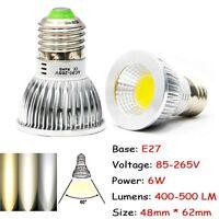 COB Ultra Bright MR16 GU10 E27 E14 LED Spot Down Light Lamp Bulb