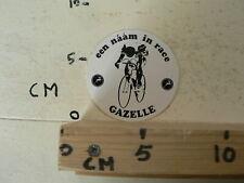 STICKER,DECAL GAZELLE  EEN NAAM IN RACE WIELRENNEN  FIETS CYCLING