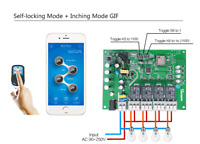 Sonoff 4CH Pro & Pro R2 2.4Ghz 433MHz RF Inching/Self-Locking/Interlock smart