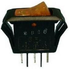 Philmore 30 390 Spst On Off 110v Lighted Amber Rocker Switch 15a 125v Ac