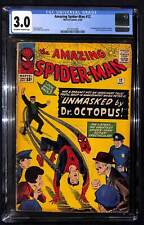 Amazing Spider-Man #12 CGC 3.0 3rd appearance of Doctor Octopus