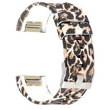 LEOPARD LEAP Large Wristband Band Bracelet Strap Accessories For FITBIT CHARGE 2