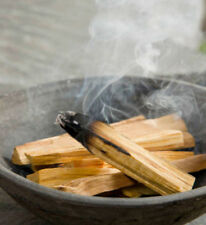 6 x REAL PALO SANTO HOLY WOOD SACRED TREE SMUDGE STICKS INCENSE PROTECT CLEANSE