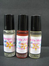 Cotton Candy Perfume Body Oil Fragrance 1/8 oz Roll on One Bottle