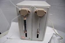 Gilson  Dual Syringe pump HPLC Metering Mixing Pump  10 ml 500 ul chromatography