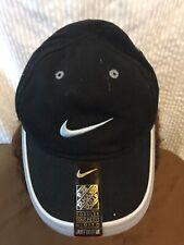 Nike Swoosh Toddler Boys Ball Cap Hat - Black  NEW