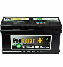 Solar Battery Gel Battery 140Ah Supply Battery Split Charge Gel