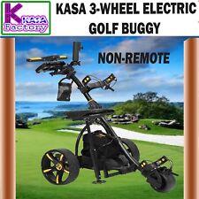 KASA 3-Wheel Non-Remote Electric Golf Buggy Digital Trolley