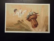 Vintage Anglo Swiss Condensed Milk trade card