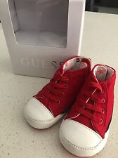 My First Guess Baby Pre Walker Shoes Size (EU 19 / US 4) Red.
