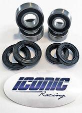 04-16 Yamaha YFZ450 YFZ450R YFZ450X BOTH Front Wheel Bearing & Seal Kits