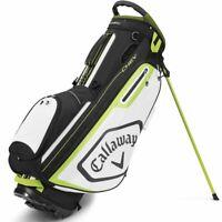 Callaway Chev Golf Stand Bag 2020 - Black/White/Yellow