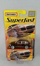 Matchbox Superfast Porsche Cayenne Turbo Nr. 74 OVP