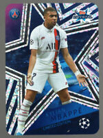 KYLIAN MBAPPE LIMITED EDITION - TOPPS UEFA CHAMPIONS LEAGUE CRYSTAL 2019/20