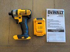 DeWalt 20-Volt MAXCordless 1/4 in. Impact Driver (Tool + 2AH Battery)