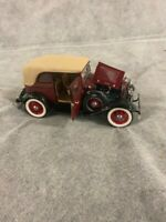 1932 Ford V-8 Bonnie and Clyde DieCast 1:24 Franklin Mint Used