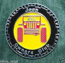 Willys jeep owner Overland Company 4X4 Car BADGE CLUB Emblem pick up for sale