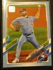 🔥2021 Topps Series 1 Father's Day Blue Parallel #212 Robbie Ray Toronto #05/50