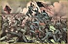 Currier & Ives | The Gallant Charge of The Fifty Fourth Massachusetts  Art Print