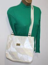 Clarks Ladies Handbag Bag Shoulder Messenger Cross Body Ivory Marc Chantal