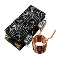 2000W Low Voltage ZVS Induction Heating Board Module w/ Tesla Coil + Fan