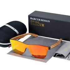 Vintage Square Sunglasses Nature Wooden Sunglasses Polarized UV400 Luxury Shades