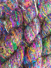 200Grams Himalaya Recycled PURE SARI Silk Yarn Knit crochet Woven 2 Skeins
