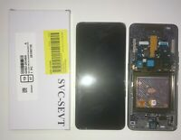 DISPLAY LCD TOUCH SCREEN VETRO ORIGINALE AMOLED SAMSUNG A80 SM-A805F NERO + KIT