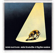 RINO GAETANO - MIO FRATELLO È FIGLIO UNICO LP COVER FRIDGE MAGNET IMAN NEVERA