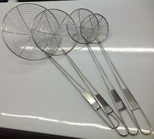 Set of 4 Metal Chip Lifters Catering Chip Ship Takeaway