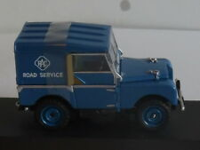"Vanguards VA11116 LAND ROVER SERIES 1 80"", RAC ROAD SERVICE VEHICLE , LTD-1000."