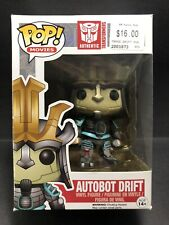 Funko Pop Vinyl AUTOBOT DRIFT #103 TRANSFORMERS (Rare) in Protector