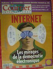 Courrier International   N°564   23 Aout 2001 : internet : les mirages de la dem