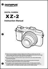 Olympus XZ-2  Digital Camera User Guide Instruction  Manual