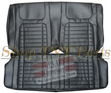 1968 Camaro Seat Covers Chevrolet Coupe Rear Back Deluxe Upholstery Skins Black