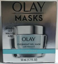 Olay Masks Hydrating Overnight Gel Mask - 1.7 fl Oz Brand New In Box Exp 5/2022+