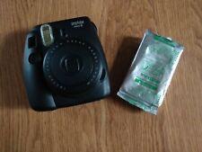 Fujifilm Instax Mini 8 Instant Photo Film Polaroid Camera Picture Black W Film